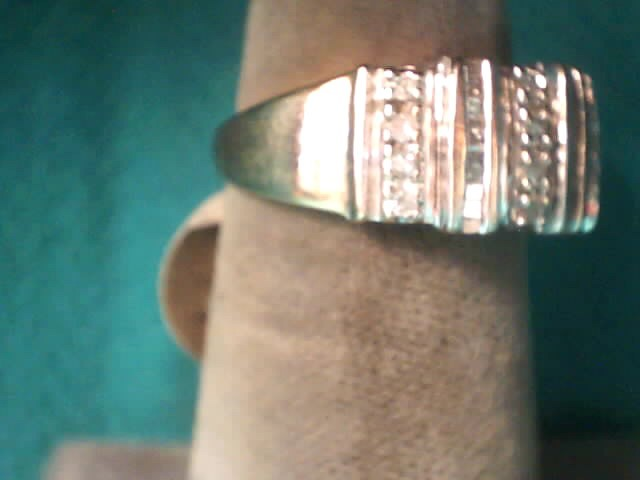 Lady's Diamond Fashion Ring 51 Diamonds .51 Carat T.W. 10K Yellow Gold 2.9dwt