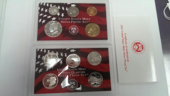 UNITED STATES 2002 SILVER PROOF SET