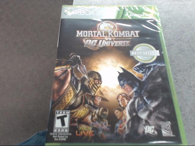 MICROSOFT Microsoft XBOX 360 Game MORTAL KOMBAT VS DC UNIVERSE - XBOX 360