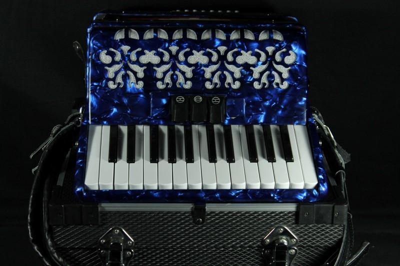Verabelli Blue Accordion