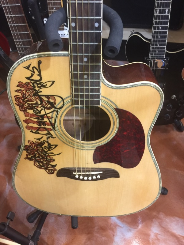 OSCAR SCHMIDT Electric-Acoustic Guitar USM-0G2CE