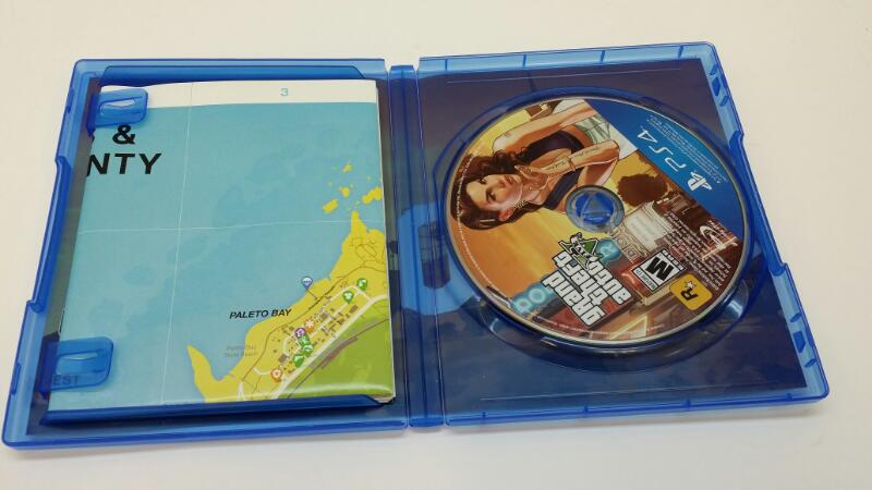 SONY PLAYSTATION 4 GRAND THEFT AUTO V VIDEO GAME]