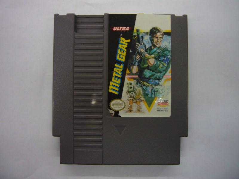 NINTENDO NES Game METAL GEAR *CARTRIDGE ONLY*
