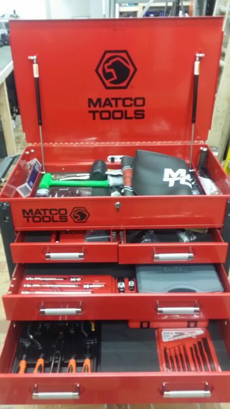 MATCO TOOLS Tool Box TOOLBOX