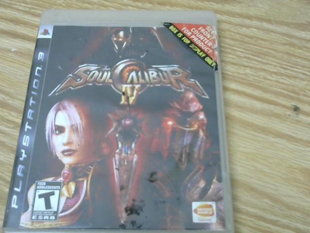 SONY Sony PlayStation 3 Game SOUL CALIBUR IV