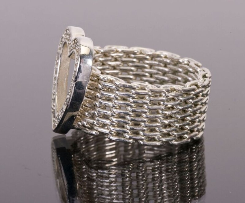 Lady's Silver Ring 925 Silver 8.8g