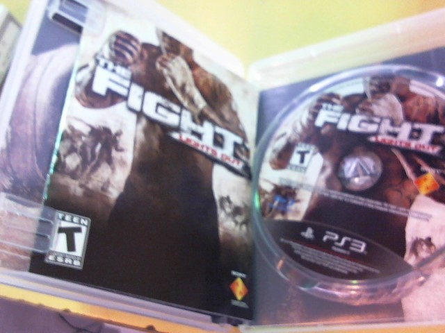 SONY Sony PlayStation 3 Game THE FIGHT LIGHTS OUT
