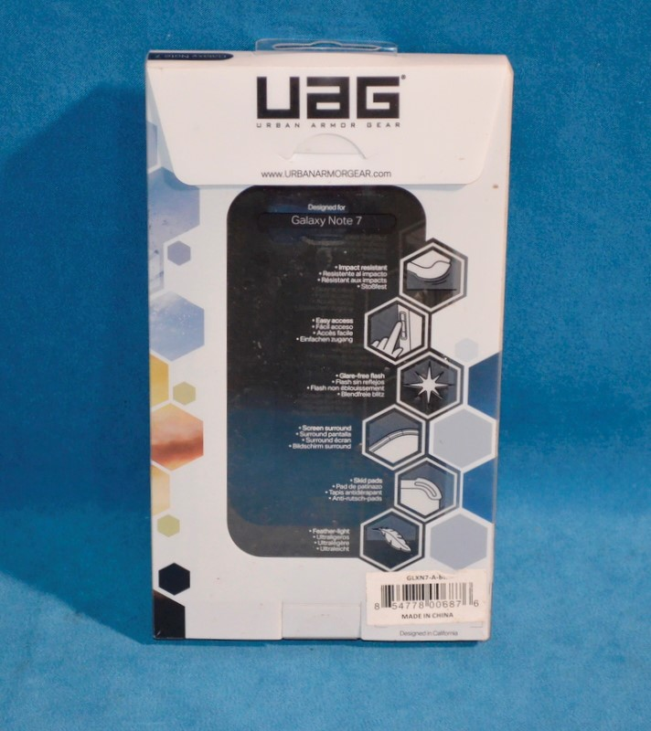 UAG Cell Phone Accessory GLXN7-A-BK PHONE CASE