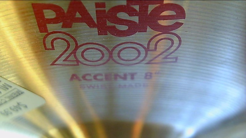 Paiste Cymbal 2002 Accent 8""