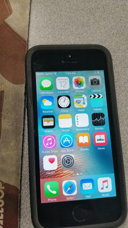 APPLE Cell Phone/Smart Phone IPHONE 5S ME350LL/A
