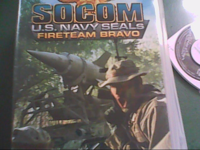 USED, SONY PSP GAME SOCOM US NAVY SEALS FIRETEAM BRAVO
