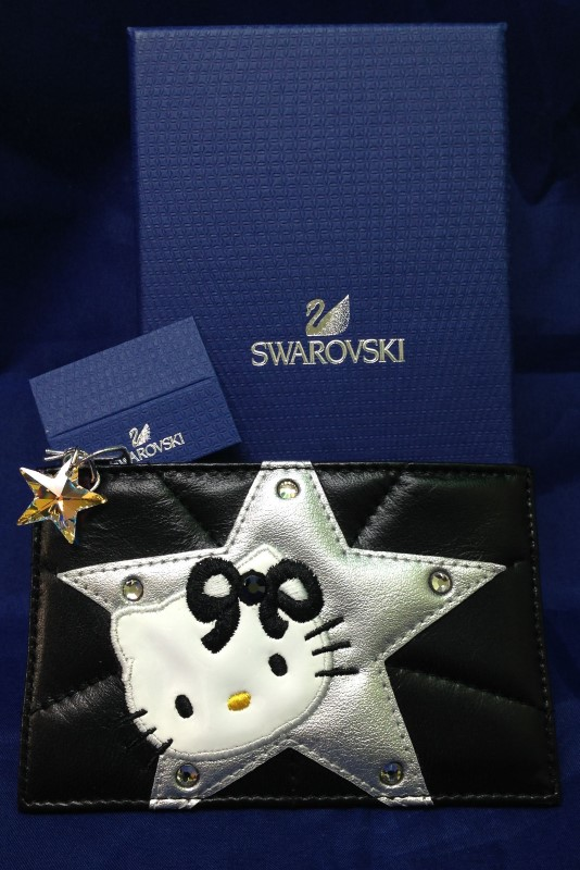 "Swarovski ""Hello Kitty"" Rock Card Holder"