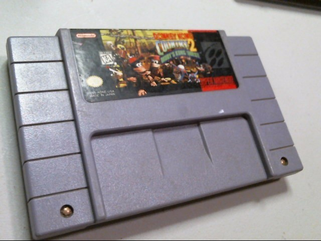 NINTENDO SNES GAME: DONKEY KONG COUNTRY 2 DIDDY'S KONG QUEST