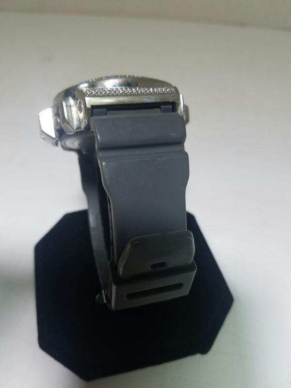 KM DS-217 GOLD/SILVER WATCH PLATED   DIAMOND SHOCK BY WATCH