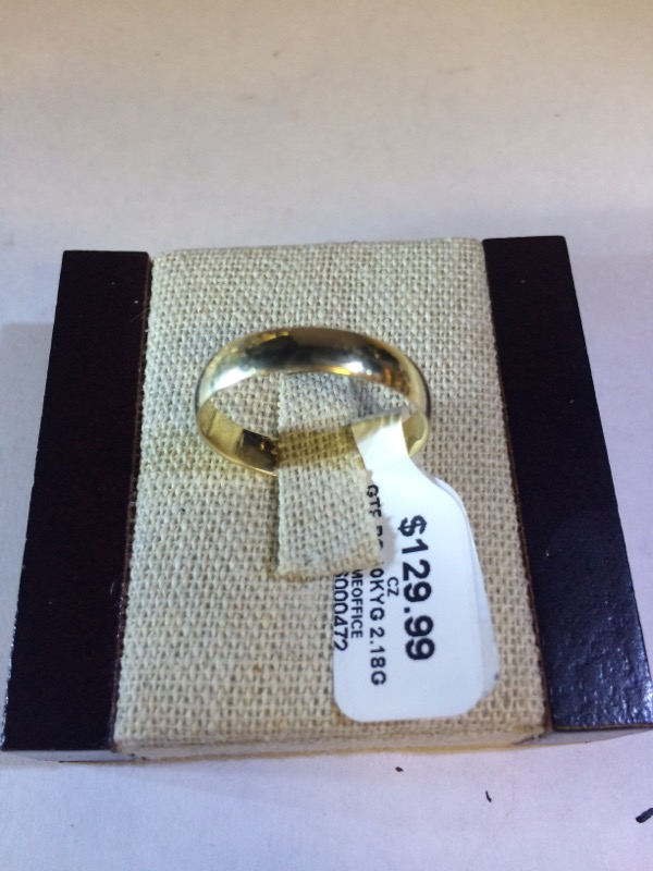 Gent's Gold Ring 10K Yellow Gold 2.18g