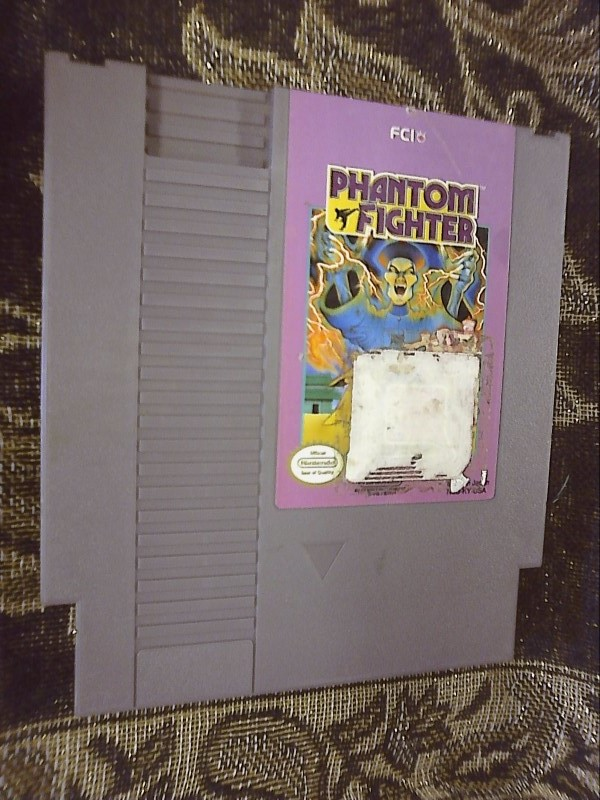 NINTENDO NES GAME: PHANTOM FIGHTER