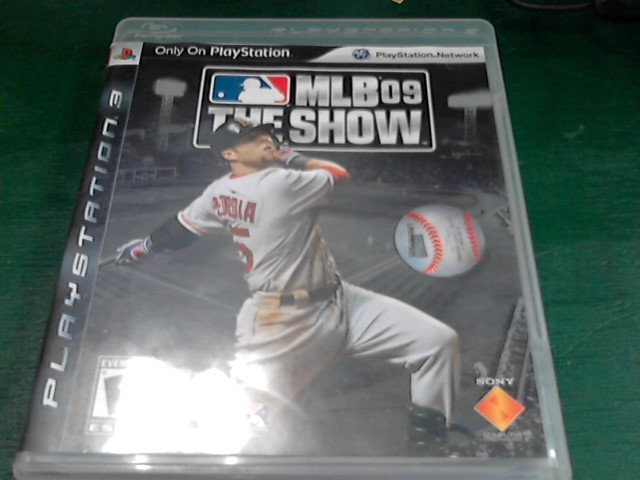 SONY Sony PlayStation 3 Game MLB 09 THE SHOW