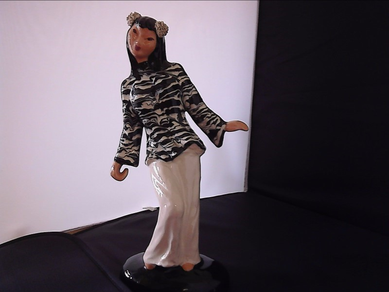 FIGURINES COLLECTIBLES MISC USED MERCH MISC USED MERCH; HEIDI SHOOP ASIAN LADY S