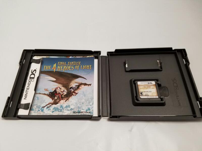 NINTENDO DS FINAL FANTASY THE 4 HEROES OF LIGHT