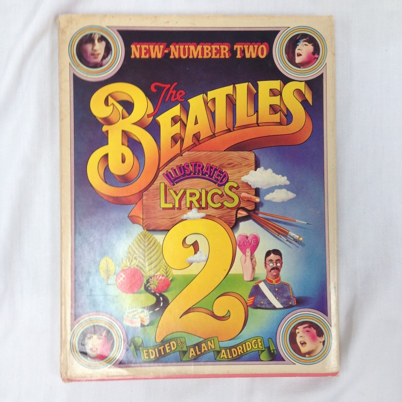THE BEATLES ILLUSTRATED LYRICS NEW NUMBER TWO 1971