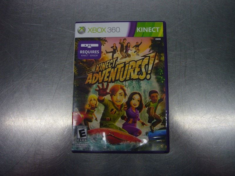 MICROSOFT XBOX 360 Game KINECT ADVENTURES