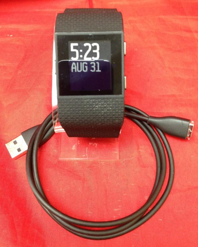 FITBIT Gent's Wristwatch SURGE FB501BKL