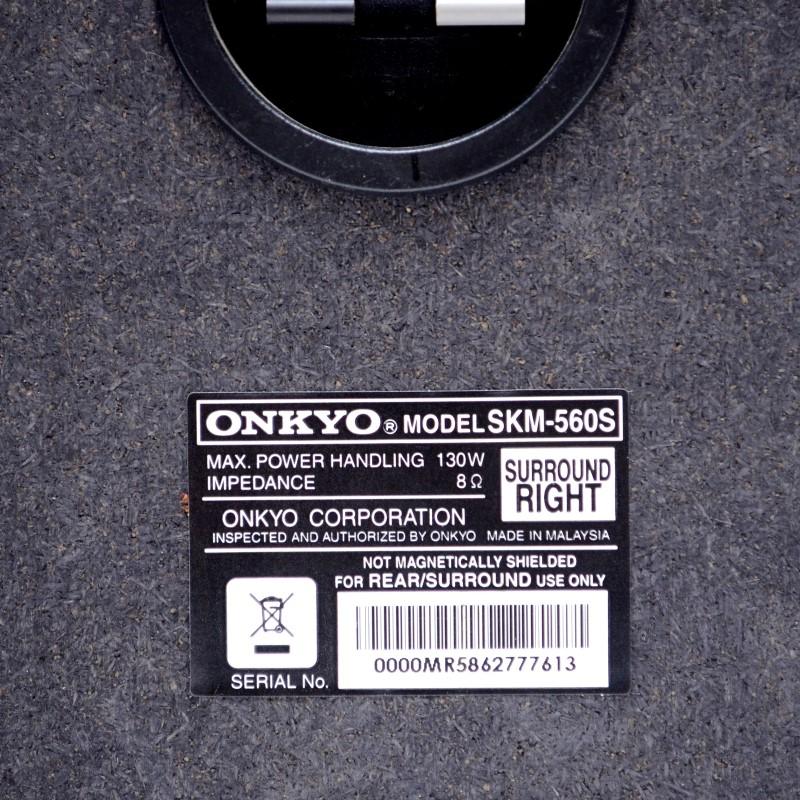Onkyo SKM-560S Pair of 2 Left & Right Surround Speakers 130W 8 Ohm>