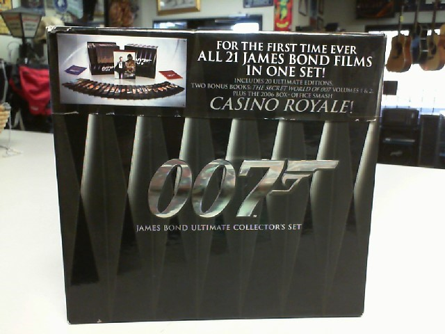DVD BOX SET 007 JAMES BOND ULTIMATE COLLECTOR'S SET