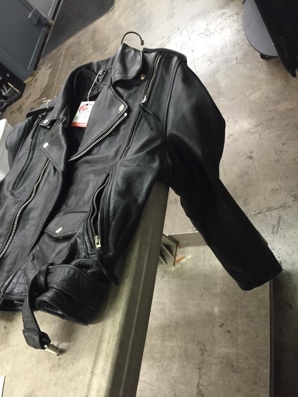 FIRST GENUINE LEATHER Coat/Jacket GENUINE LEATHER JACKET