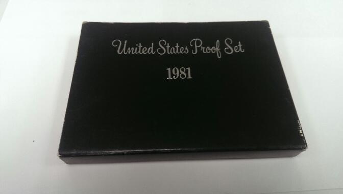 UNITED STATES 1981 PROOF SET