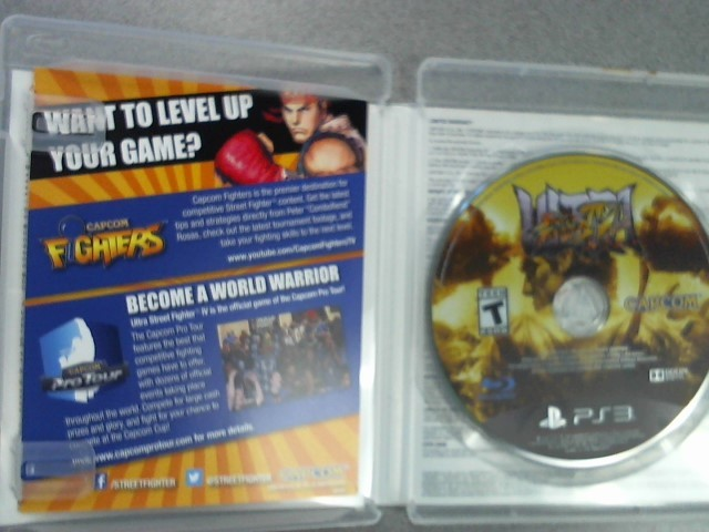 SONY Sony PlayStation 3 Game STREET FIGHTER IV