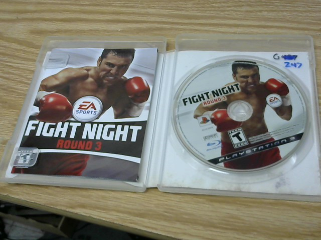 SONY Sony PlayStation 3 Game FIGHT NIGHT ROUND 3