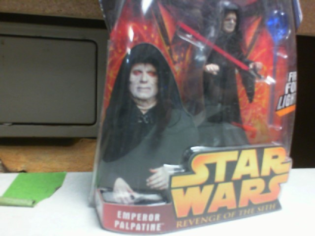 STAR WARS REVENGE OF THE SITH EMPEROR PALPATINE