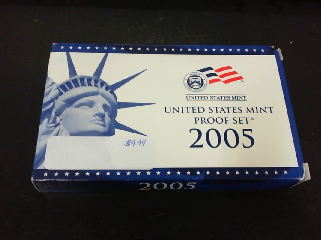 UNITED STATES Mint Set 2005 MINT PROOF SET