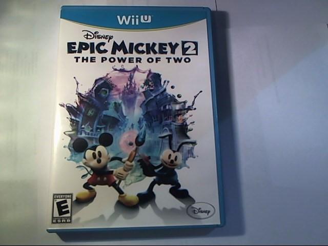 NINTENDO Nintendo Wii U Game EPIC MICKEY 2 THE POWER OF TWO