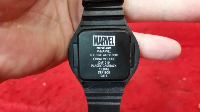 Marvel Deadpool LED Rubber Logo Wrist Watch Wristband