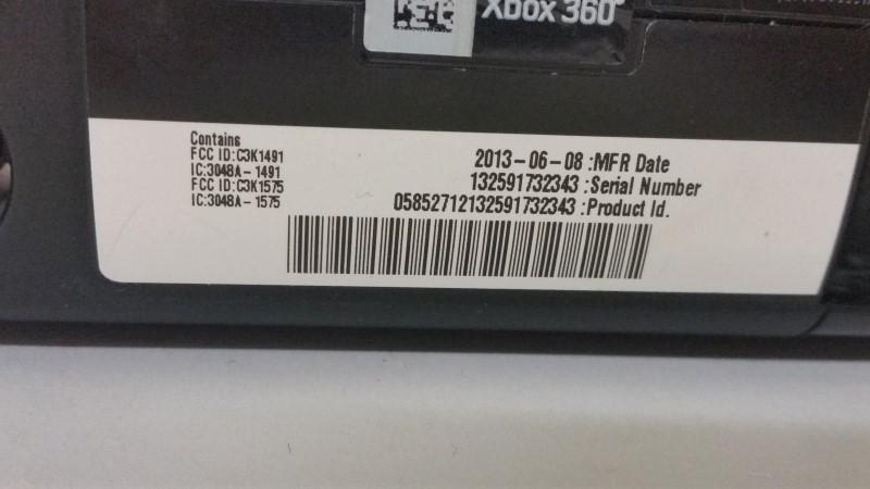 MICROSOFT XBox 360 XBOX 360 - 320GB - CONSOLE