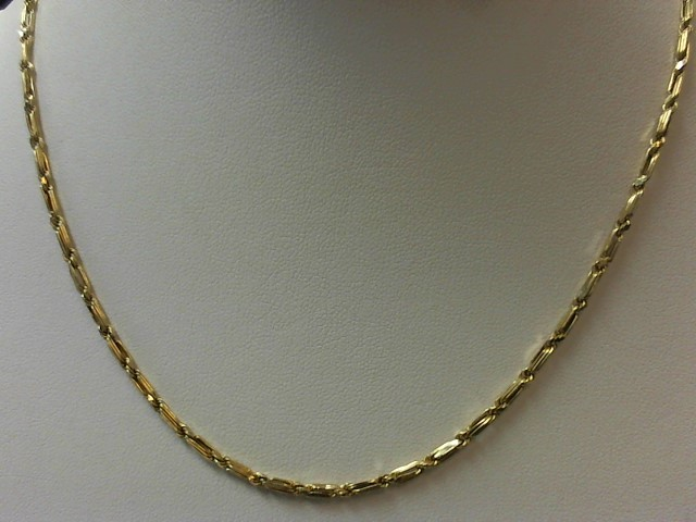 "18"" Gold Singapore Chain 14K Yellow Gold 3.6g"