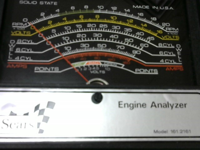 SEARS Diagnostic Tool/Equipment 161.2161