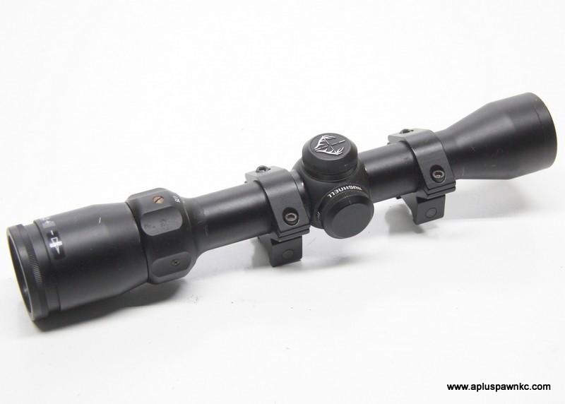 BUSHNELL Firearm Scope 73-1420 1.75-4X32 w Rings