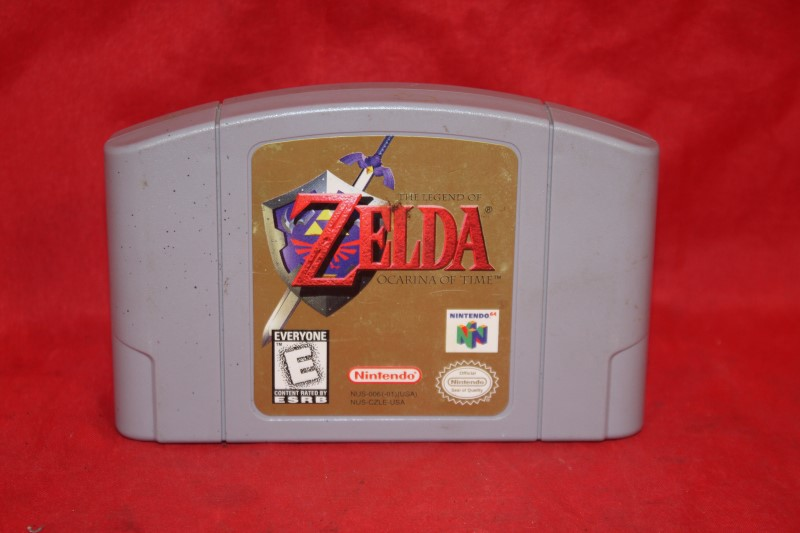 Legend of Zelda: Ocarina of Time (Nintendo 64, 1998) N64