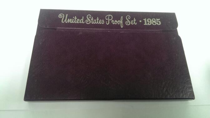 UNITED STATES 1985 PROOF SET