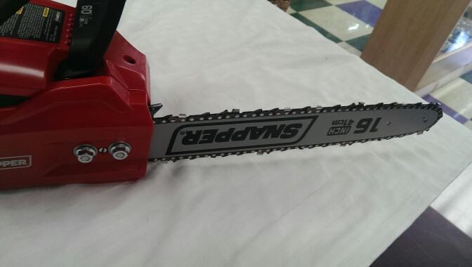 SNAPPER CHAINSAW MODEL SC60V