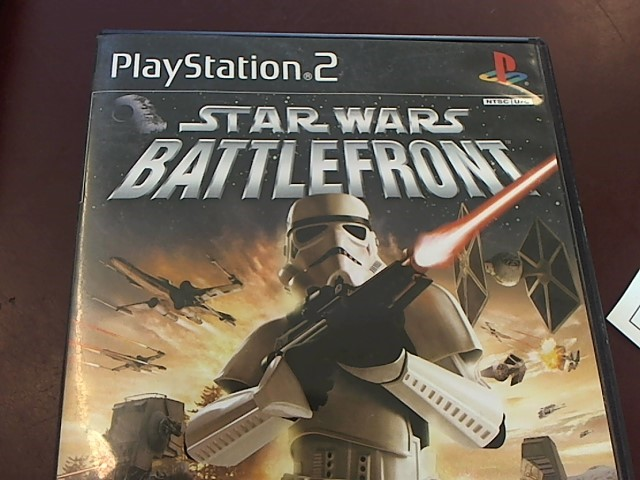SONY PS2 STAR WARS BATTLEFRONT