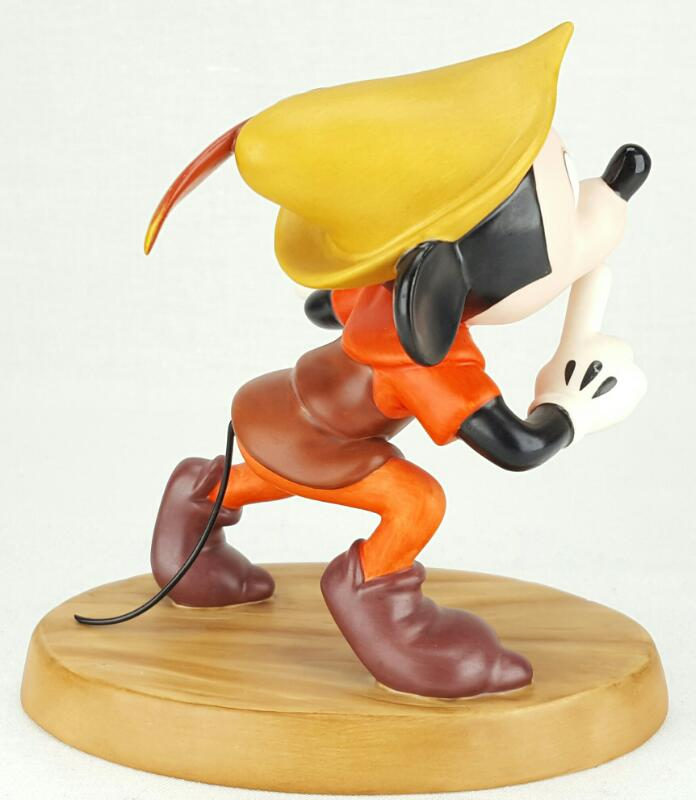 """WDCC MICKEY AND THE BEANSTALK'S """"SHHH!"""" MICKEY MOUSE FIGURINE"""