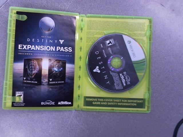 MICROSOFT Microsoft XBOX 360 Game DESTINY XBOX 360