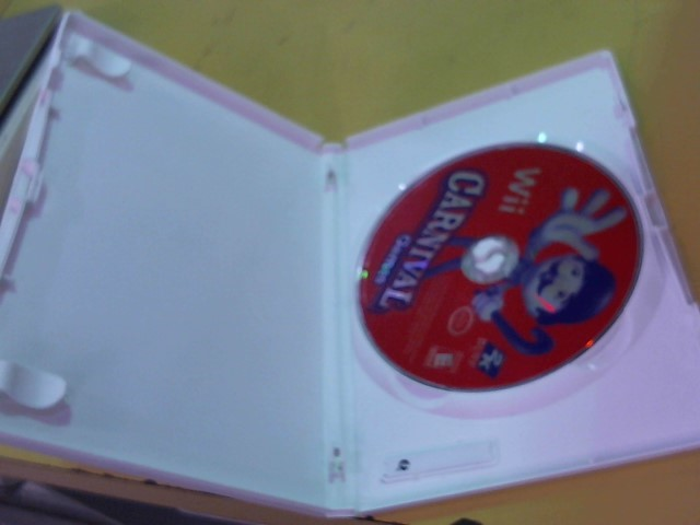 NINTENDO Nintendo Wii Game CARNIVAL GAMES WII