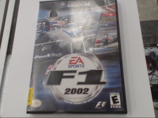 Nintendo GameCube Game EA SPORTS F1 2002