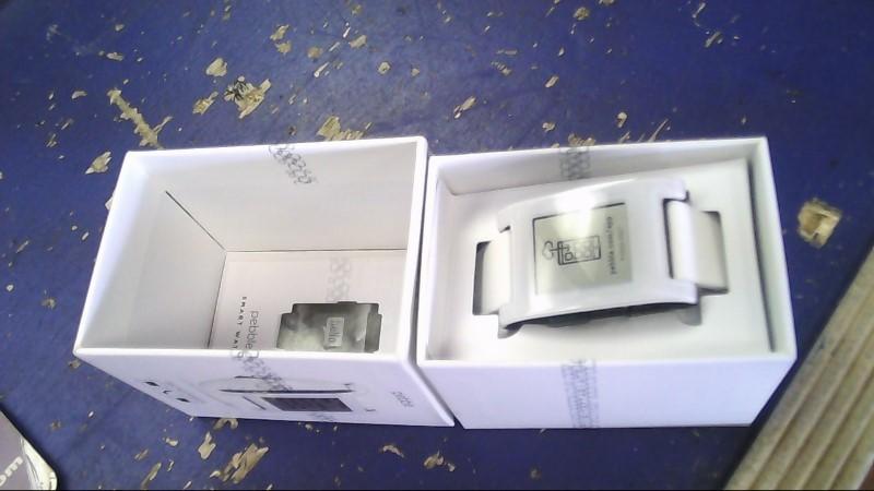PEBBLE SMART WATCH Gent's Wristwatch 301WH