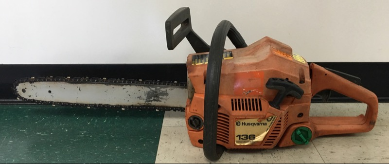 "HUSQVARNA CHAINSAW 136 16"" BAR  ** IN STORE PICK-UP ONLY **"